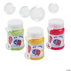Snappy Spring Mini Bubble Bottles - 24 Pc.