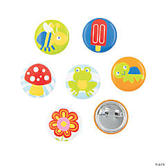 Snappy Spring Mini Buttons