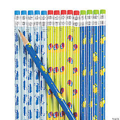 Snappy Spring Pencils - 24 Pc.