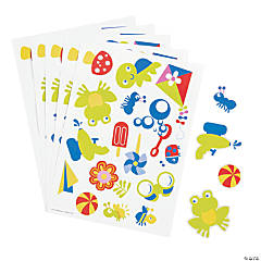 Snappy Spring Sticker Sheets