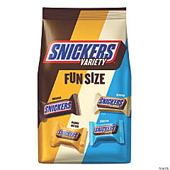 Snickers Variety Fun Size Candy Bars