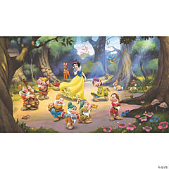 Snow White And The Seven Dwarfs Wallpaper Mural