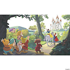 Snow White 'Happily Ever After' Prepasted Wallpaper Mural
