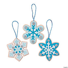 Snowflake Cookies Ornament Craft Kit