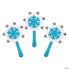 Snowflake Jingle Bell Noisemakers