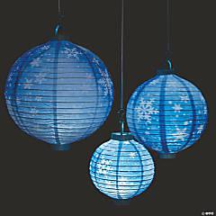 Snowflake Light-Up Paper Lanterns