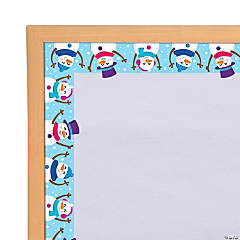 Snowman Bulletin Board Borders
