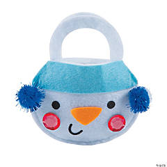 Snowman Coin Purse Craft Kit