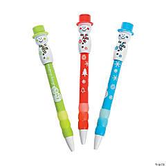 Snowman Merry Christmas Pens