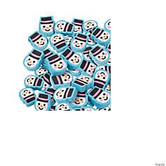 Snowman Mini Erasers