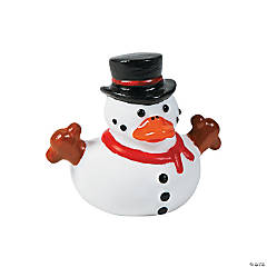 Snowman Rubber Duckies PDQ