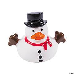Snowman Rubber Duckies PDQ