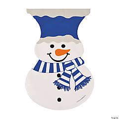 Snowman-Shaped Bags