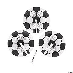 Soccer Ball Folding Fans