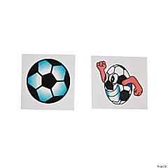 Soccer Glitter Tattoos