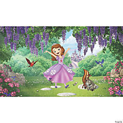 Sofia The First Garden Prepasted Wallpaper Mural