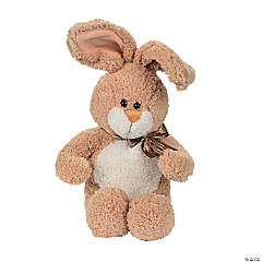 Soft Brown Stuffed Bunny