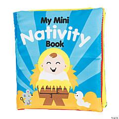 Soft Mini Nativity Character Book