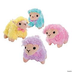Soft Pastel Stuffed Lambs