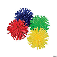 Soft Vinyl Porcupine Balls