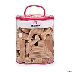 Soft Woodlike Blocks, 30-Piece Bag