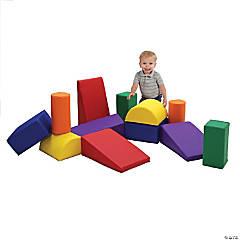 SoftScape Toddler Builder Block Set, 12-Piece - Assorted