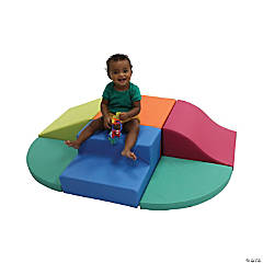 SoftScape Toddler Playtime All Around Climber - Lime/Raspberry