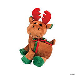 Softy Stuffed Reindeer