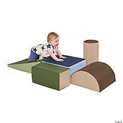 SoftZone® Climb and Crawl Play Set - Earthtone