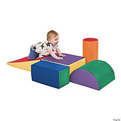 SoftZone® Climb and Crawl Play Set - Primary