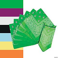 Solid Color Bandanas