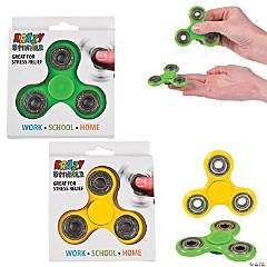 Solid Color Fidget Spinners - Case