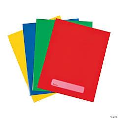 Solid Color Pocket Folders
