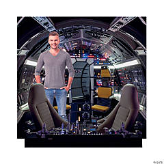 Solo: A Star Wars Story™ Millennium Falcon Cockpit Stand-Up
