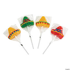 Sombrero Lollipops