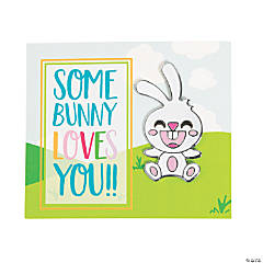 Some Bunny Loves You Pins with Card