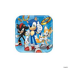 Sonic™ the Hedgehog Paper Dessert Plates