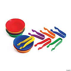 Sorting Bowls and Tweezer Set, Set of 6