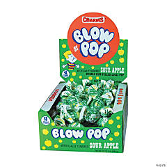 Sour Apple Charms® Blow Pops®