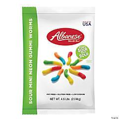 Sour Gummi Worm, 4.5 lb