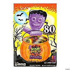 Sour Patch Kids Zombie Treat Size Bags, 0.5 oz, 80 Count