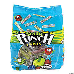 Sour Punch Twists 4-Flavor, 185 Count