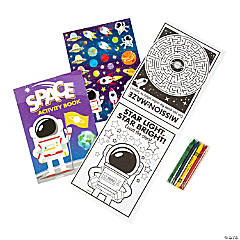 Space Activity Stationery Sets