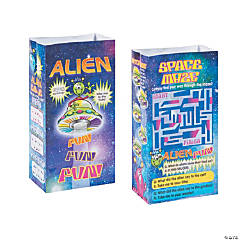 Space Alien Kids' Meal Bags