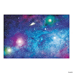 Space Galaxy Backdrop Banner