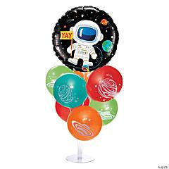 Space Happy Birthday Balloon Centerpieces
