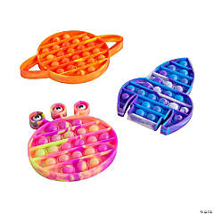 Space Lotsa Pops Popping Toys