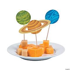 Space Party Cupcake Picks - 25 Pc.