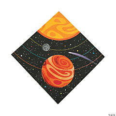 Space Party Luncheon Napkins