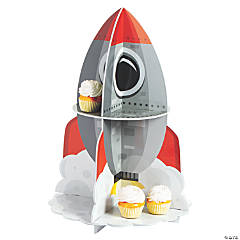 Space Rocket Treat Stand